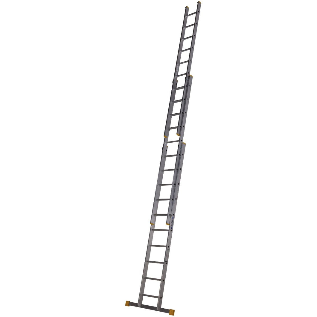 Werner D Rung Extension Ladder 2.97m Triple (7232918)