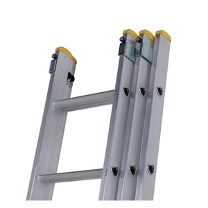 Werner D Rung Extension Ladder 3.53m Triple (7233518)