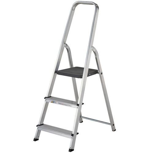 Werner Stepladder 3 Tread High Handrail (7400318)