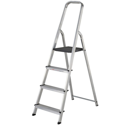 Werner Stepladder 4 Tread High Handrail (7400418)
