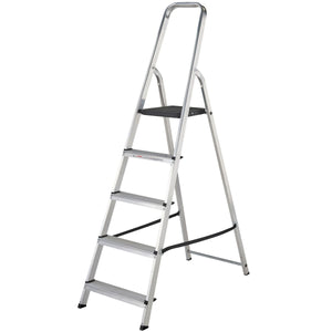 Werner Stepladder 5 Tread High Handrail (7400518)