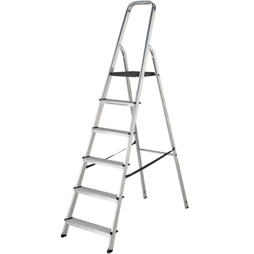 Werner Stepladder 6 Tread High Handrail (7400618)