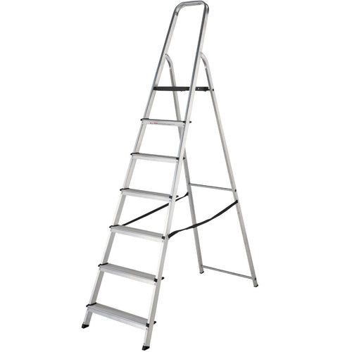Werner Stepladder 7 Tread High Handrail (7400718)