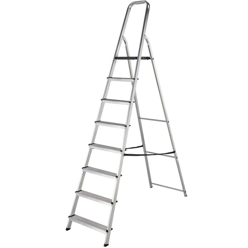 Werner Stepladder 8 Tread High Handrail (7400818)