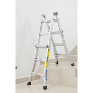 Werner Telescopic Combination Ladder 4x3 (75053)