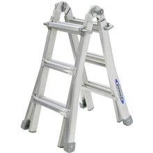 Load image into Gallery viewer, Werner Telescopic Combination Ladder 4x3 (75053)