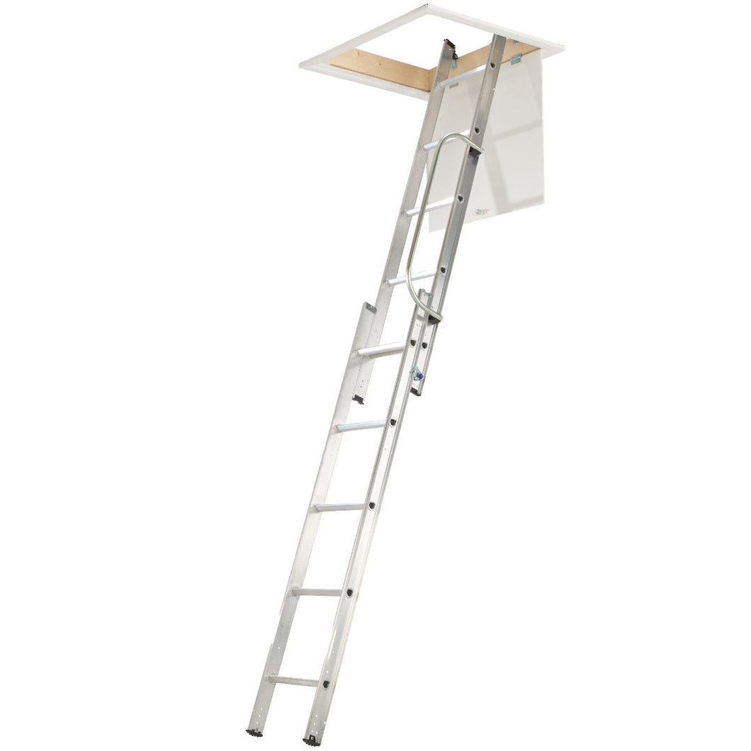 Werner Loft Ladder 2 Section with Handrail (76002)
