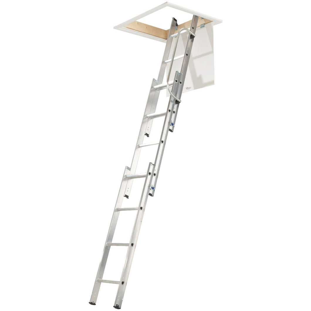 Werner Loft Ladder 3 Section with Handrail (76003)