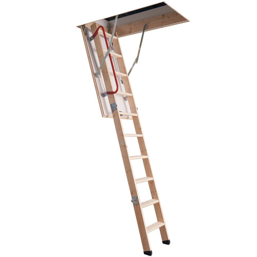 Werner Loft Ladder Timber Hideaway® (76105)