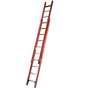 Werner Fibreglass Extension Ladder ALFLO 3.0m Utility Double (77431BR)
