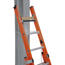 Load image into Gallery viewer, Werner Fibreglass Extension Ladder ALFLO 3.6m Utility Double (77435BR)