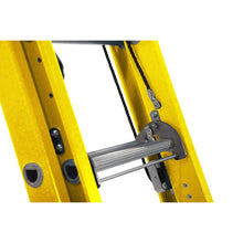 Load image into Gallery viewer, Werner Fibreglass Extension ladder ALFLO 3.9m Trade Double (77539)