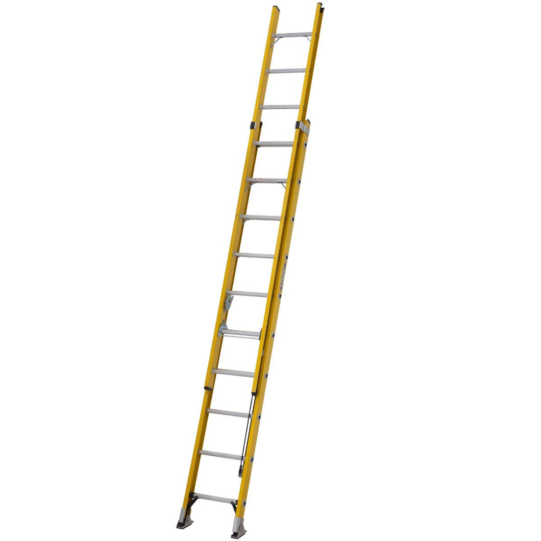 Werner Fibreglass Extension ladder ALFLO 3.1m Trade Double (77531)