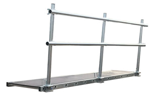 LFI 600mm Staging Board 5.95m Wide With Single Sided Handrail (C4LS20M7K)