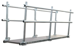 LFI 450mm Staging Board 5.95m Wide With Double Sided Handrail (C6LS20M7KK)