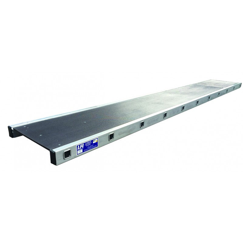 LFI PRo Aluminium Lightweight Staging Board 450mm x 5.4m (C6LS18)