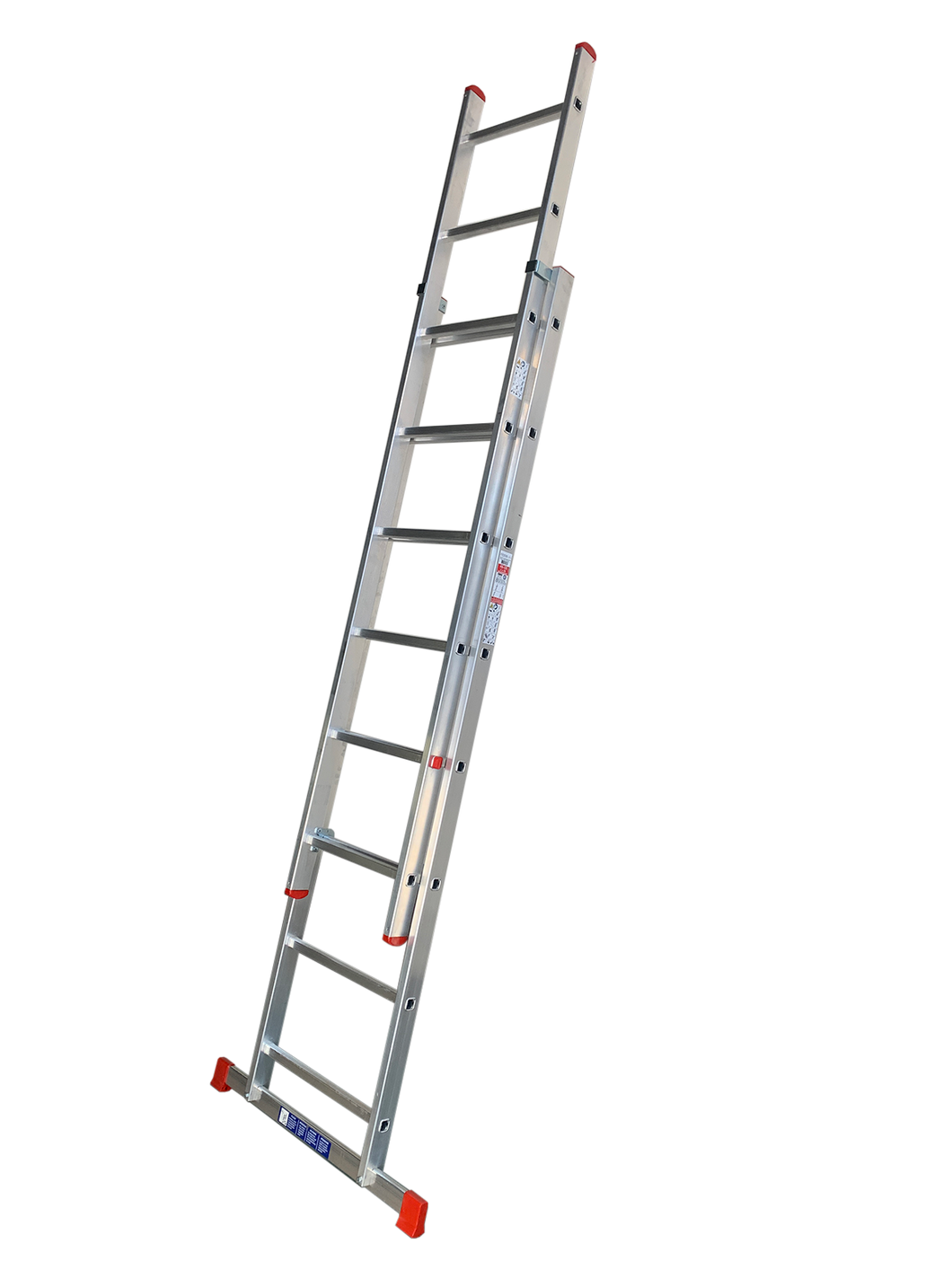 LFI Home Double Section 9 Rung Extension Ladder 2.5m (F2DP25)
