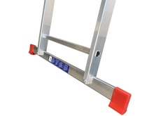 Load image into Gallery viewer, LFI Home Double Section 9 Rung Extension Ladder 2.5m (F2DP25)