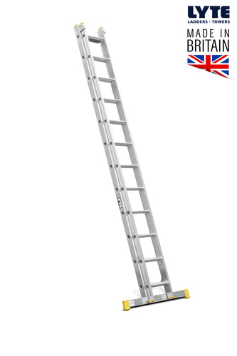 Lyte EN131-2 Professional Extension Ladder 12 rung 2 Section (NELT235)