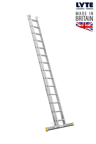 Lyte EN131-2 Professional Extension Ladder 14 rung 2 Section (NELT240)