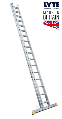 Lyte EN131-2 Professional Extension Ladder 17 Rung 2 Section (NELT250)