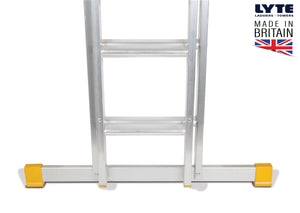 Lyte EN131-2 Professional Extension Ladder 10 Rung 2 Section (NELT230)