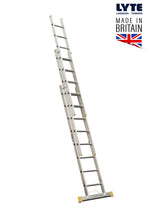 Load image into Gallery viewer, Lyte EN131-2 Professional Extension Ladder 10 Rung 3 Section (NELT330)
