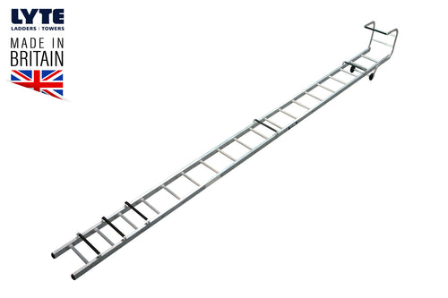 Lyte Trade Roof Ladder Single Section 4.97m (TRL150)
