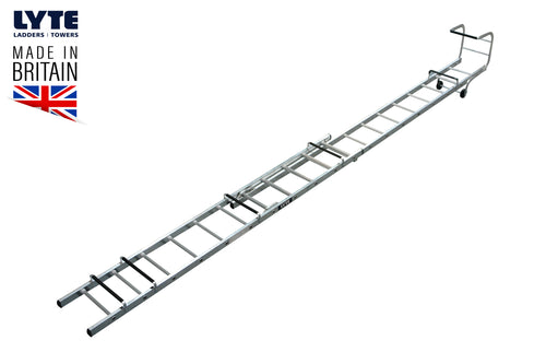 Lyte Trade Roof Ladder Double Section 5.64m (TRL235)