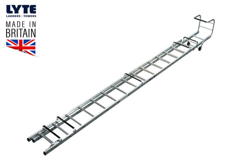 Lyte Trade Roof Ladder Double Section 7.67m (TRL245)