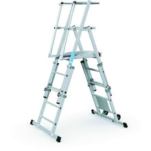 Load image into Gallery viewer, Zarges ZAP Telescopic Work Platform 3-5  Rungs (41325)