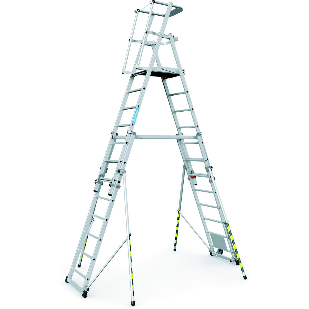 Zarges ZAP Telescopic Work Platform 7-12 Rungs (41328)