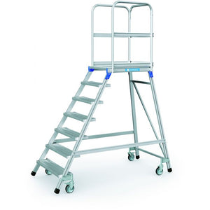 Zarges Mobile Access 7 Step Platform - 3.7m Working Height (41975)