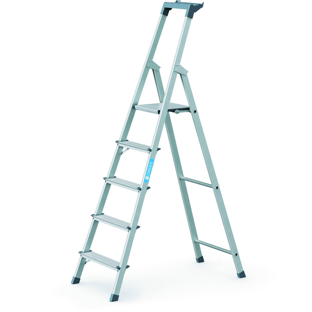 Zarges Scana S Platform Step Ladder - 5 Tread (44155)