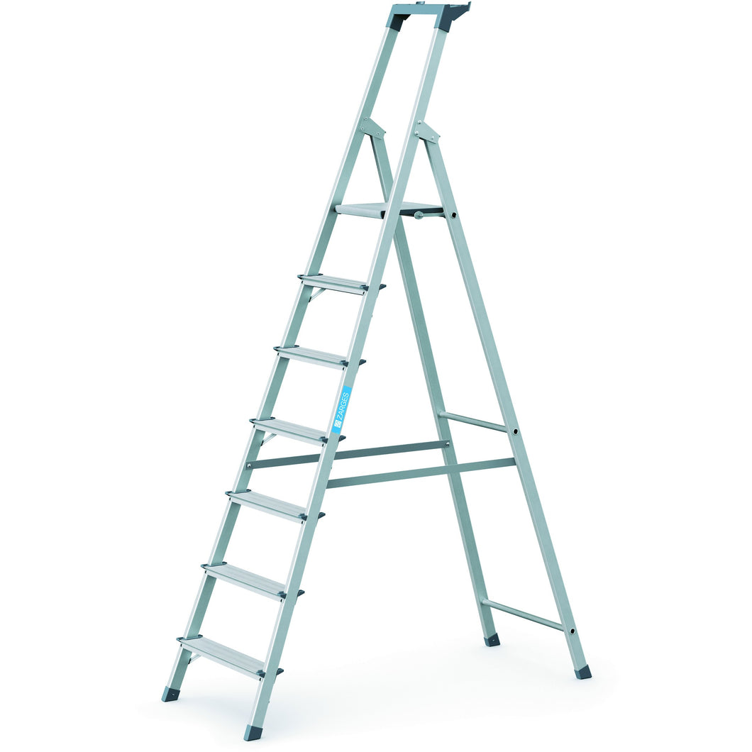 Zarges Scana S Platform Step Ladder - 7 Tread (44157)