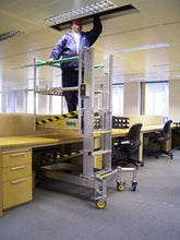 Load image into Gallery viewer, Desksurfer Folding Mast- Working Height 5.5M (55FM)