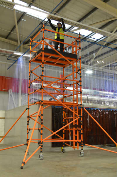 Lyte HiLyte GRP Leader 500 Scaffold Tower 1.8m x 0.85m - 11.2m Working Height