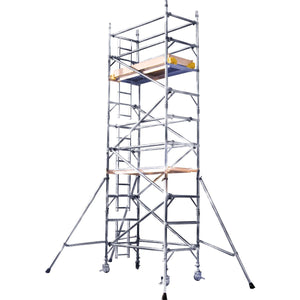 BoSS Ladderspan Tower 850mm x 2.5m - Working Height 3.7m (333522)