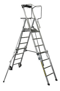 Telescopic Mobile Working Platform - Platform Height 1.3m