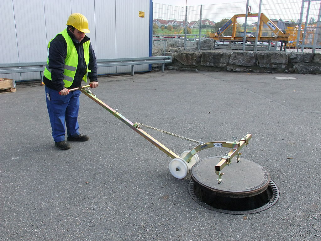 Probst Manhole Cover Lifter SDH-LIGHT (54800010)