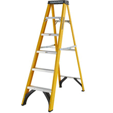 Load image into Gallery viewer, Youngman S400 Fibreglass Heavy Duty Trade Stepladder 6 Tread (52744618)