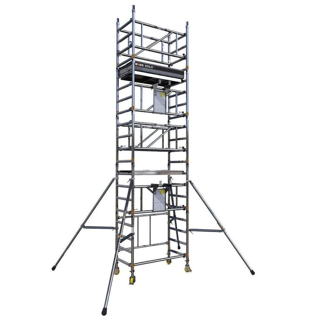 BoSS SOLO 700 Scaffold Tower Working Height 6.2m (61404200)
