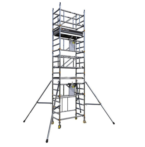BoSS SOLO 700 Scaffold Tower Working Height 4.2m (61402200)