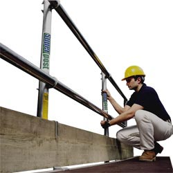 Youngman Staging Handrail System Single Side - 6m