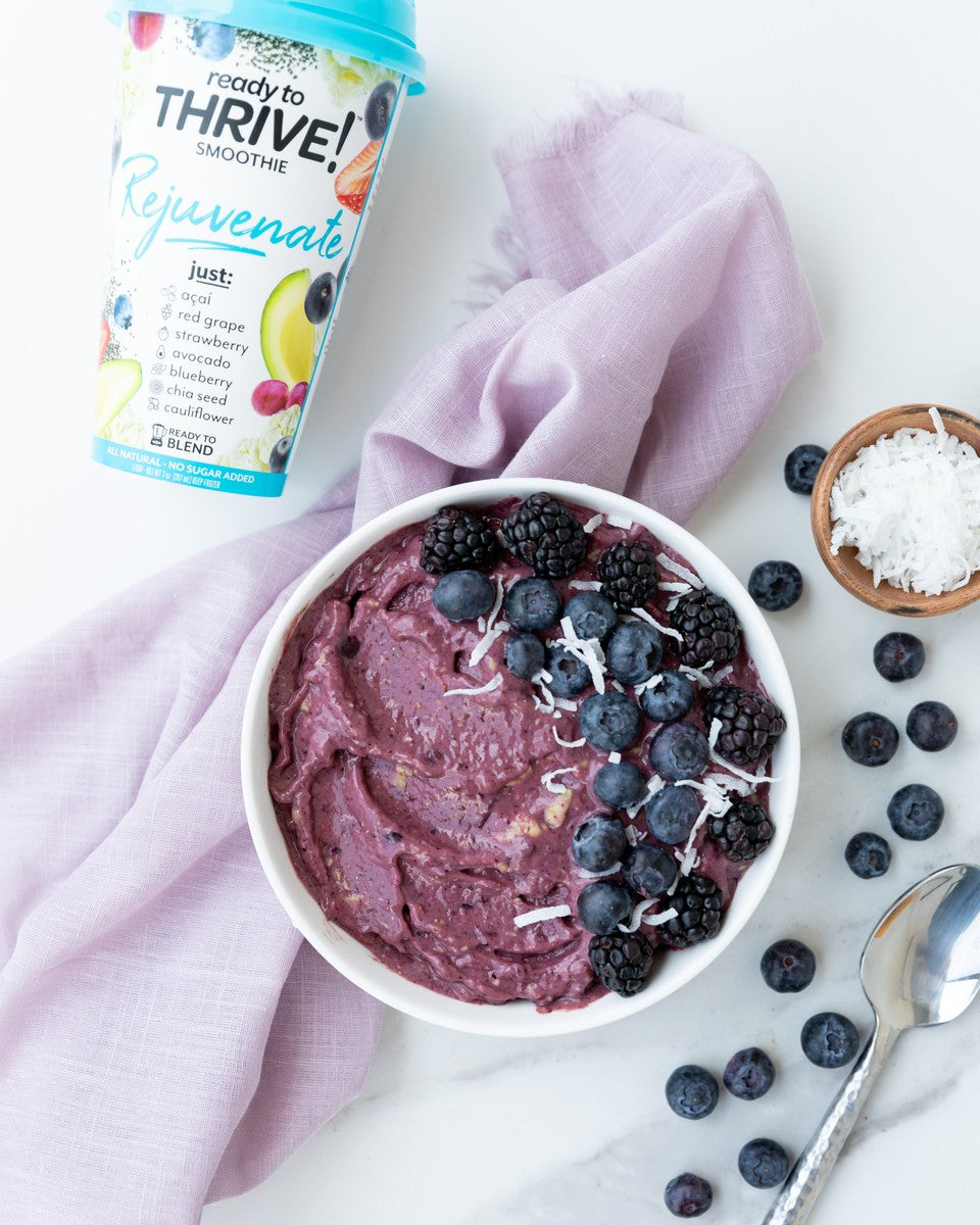 Rejuvenate Smoothie Bowl Recipe