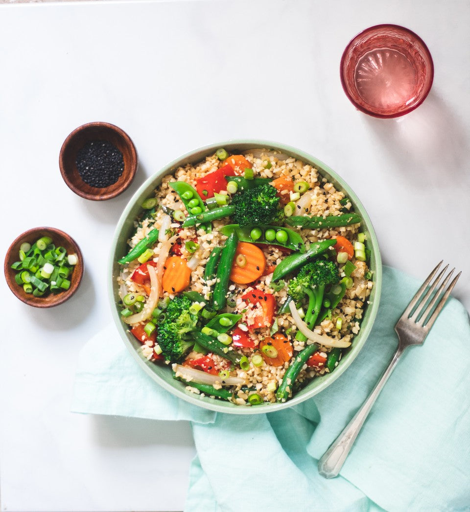 "Healthy ""Fried Rice"" Recipe"