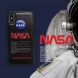Black NASA iPhone Case | The Hype Planet
