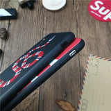Gucci x Supreme Red and Black Snake Sup iPhone Case