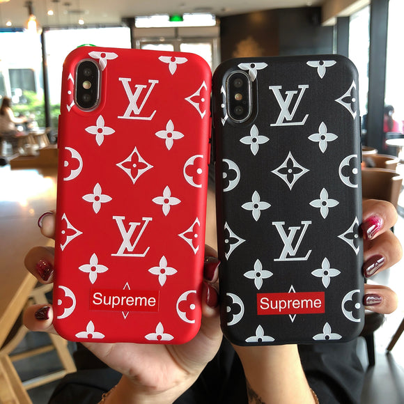 Supreme x LV iPhone Cases | The Hype Planet