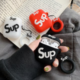 Supreme Sup AirPods Case with Keychain